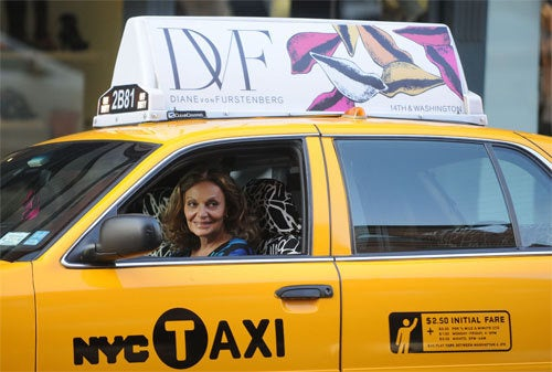 Lady Cab Driver