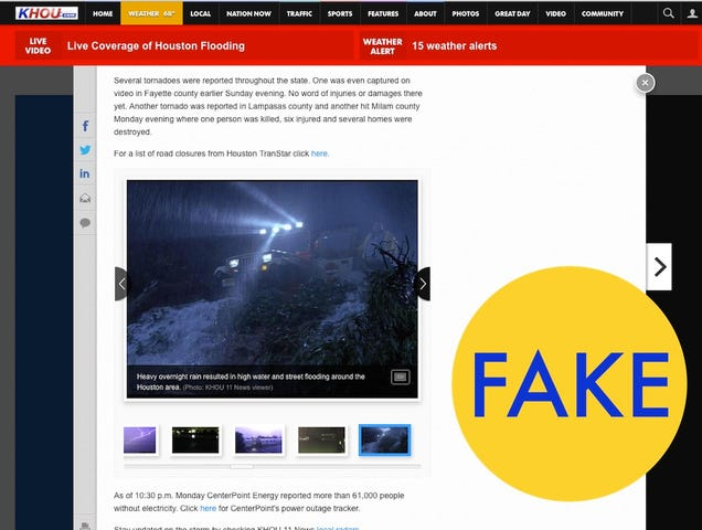 5 More Viral Photos That Are Totally Fake