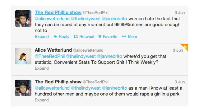 If Comedy Has No Lady Problem, Why Am I Getting So Many Rape Threats?