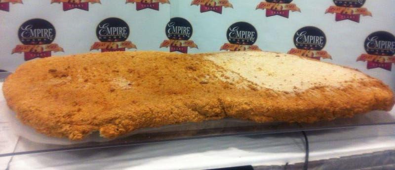This giant breaded clod is the world's biggest chicken nugget