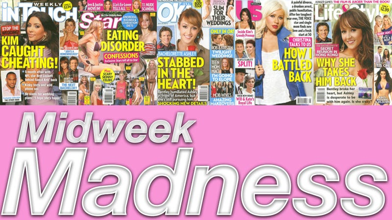 This Week In Tabloids: Kim Kardashian Had Phone Sex With A Dude Who's Not Her Fiancé