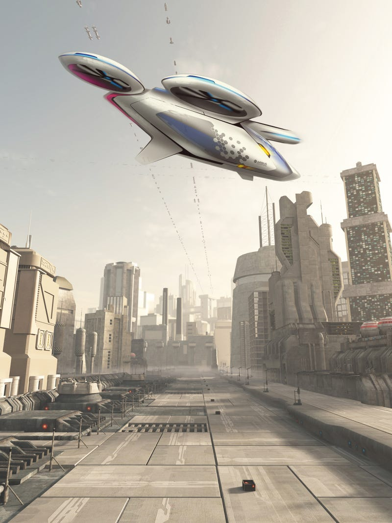 According to Airbus, A Flying Car Reality Is Just Around The Corner