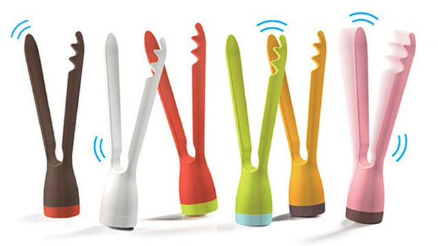 Wobbling Tongs That Never Topple Will Keep Your Counters Clean