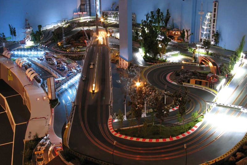 America's Most Elaborate Slot Car Track