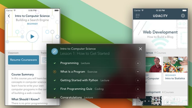 Udacity for iPhone and iPad Gives You Free Online Courses On the Go