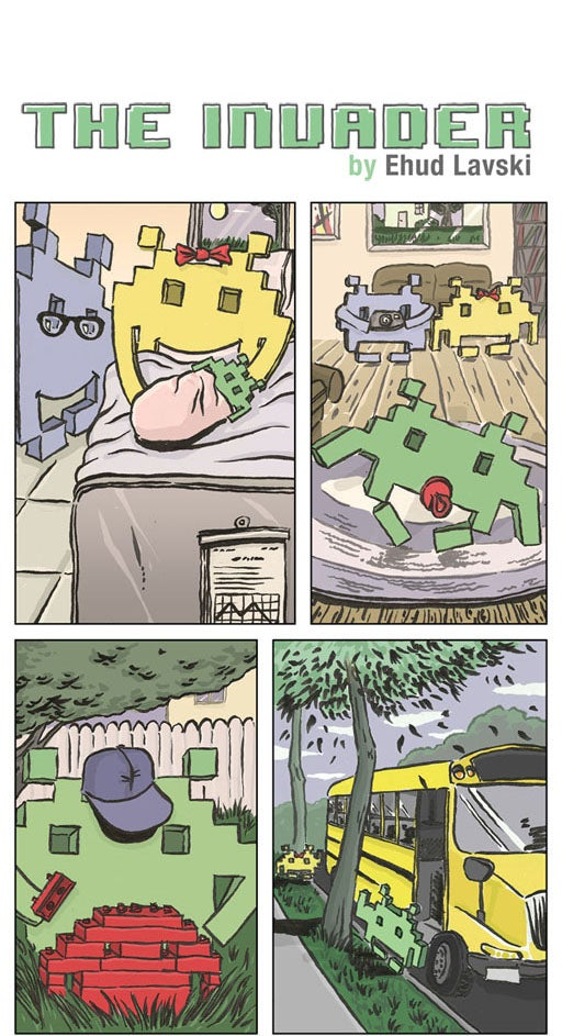 This short comic will make you feel sorry for Space Invaders