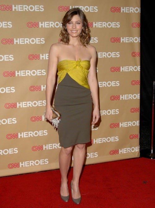 Jessica Biel: Mellow In Yellow