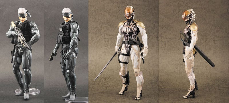 Metal Gear Solid 4 Figures Make Me Solid