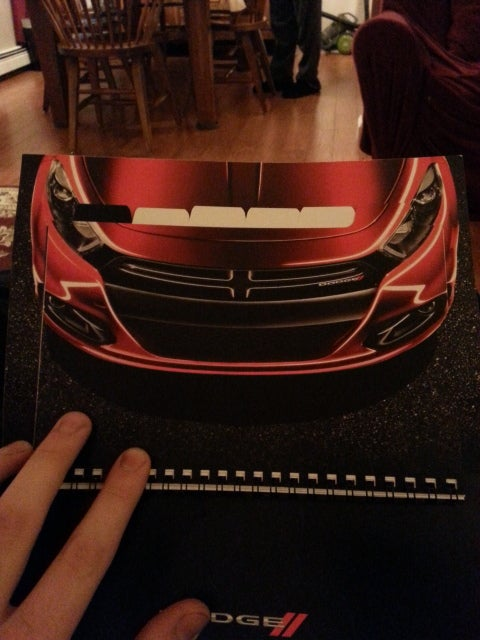 Look what Dodge sent me