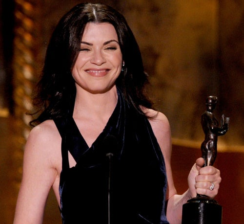 The Good Wife Finally Gets To Smile
