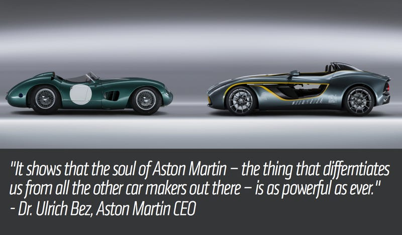 The Aston Martin CC100 Speedster Is A Century Of Design In One Concept