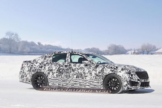 2016 CTS-V Spied