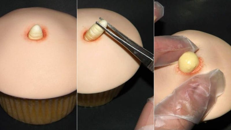 Behold the World's Most Disgusting Cupcake (NSF Your Appetite/Sanity)