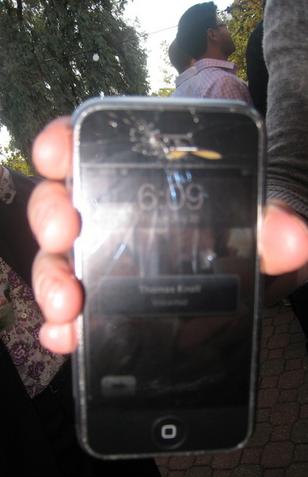 iPhone Schadenfreude