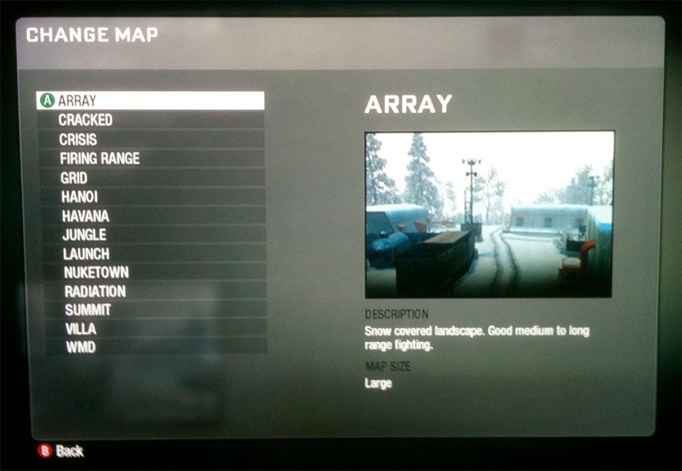 Glimpse of The Call of Duty: Black Ops Multiplayer Maps
