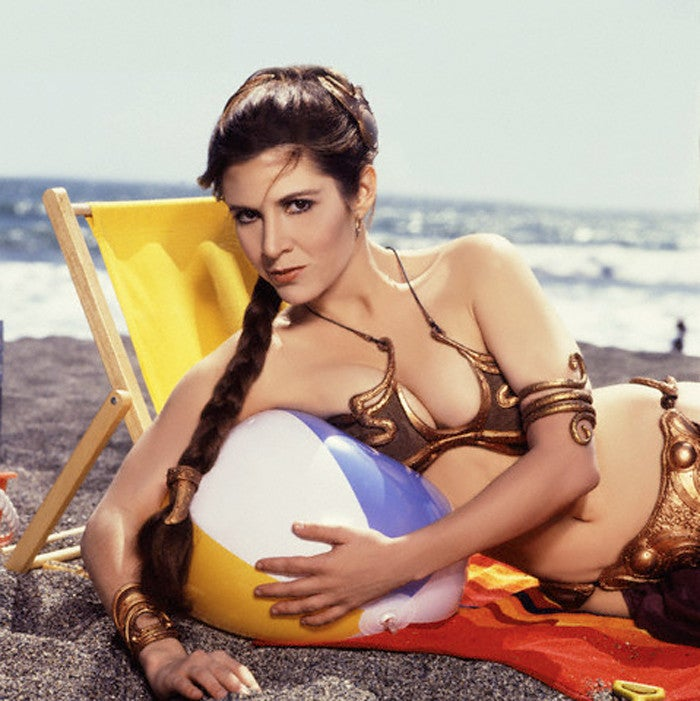 That time Princess Leia went to Cancun on spring break...