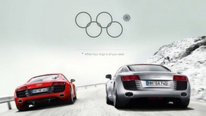 Audi Needs To Make This Fake Sochi Olympic Ring Fail Ad A Reality