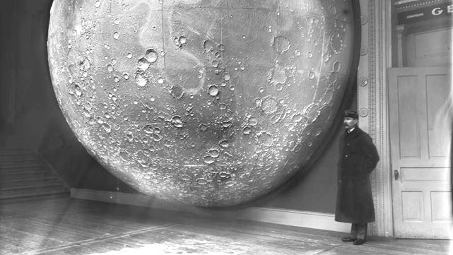 This is easily the best lunar photograph of the 1800s