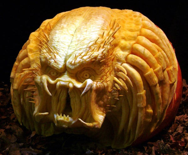 Science Fiction's Great Villains, Immortalized In Pumpkin Flesh