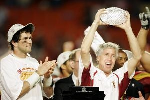 Schools That Won The BCS Championship In 2004, Step Forward. Not So Fast, USC