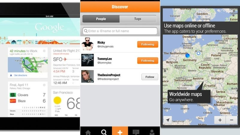ForeverMap2, Google Now, Timeless, and More.