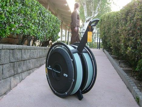 Samsonite OBAG Is Best-Looking Suitcase Ever, or Lightcycle Wheel Replacement