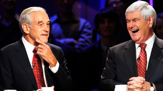 The Mystery of Ron Paul's Collapsing Eyebrow