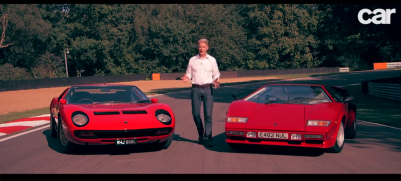 What You Learn Driving The Countach And Miura Back To Back