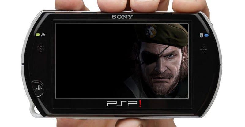 Kojima's PSP Metal Gear Is Metal Gear Solid: Peace Walker?