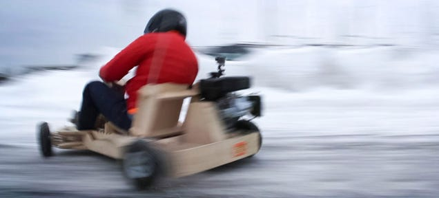 New Kickstarter Is Planning What's Basically The Ikea Go-Kart