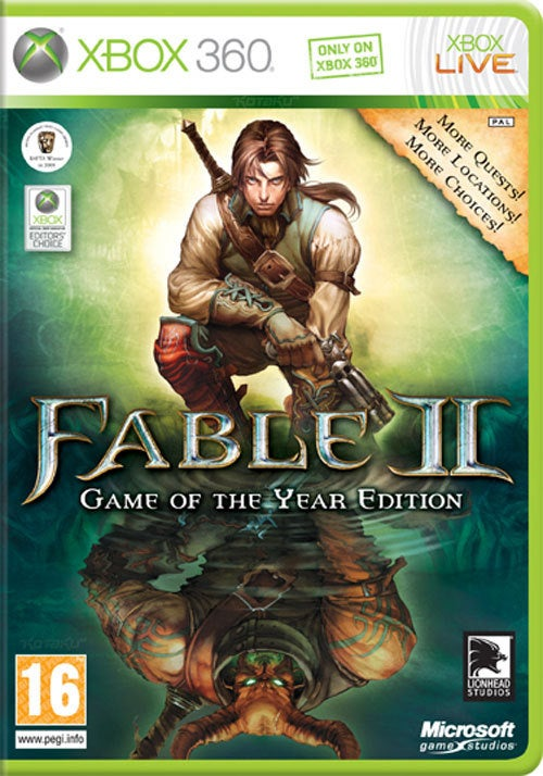 Fable II Gets A Game Of The Year Edition