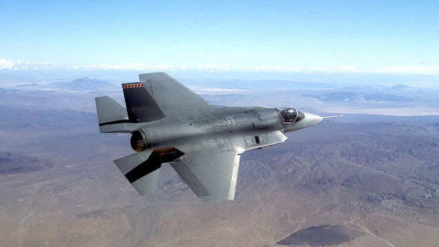 The Insanely Expensive F-35 Is Delayed Again, Now Because of Software