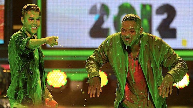 Nickelodeon Slimes a Variety of Pop Singers