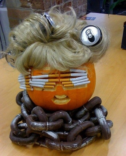 If You're Not Excited About Halloween Yet These Lady Gaga Pumpkins Will Take You There