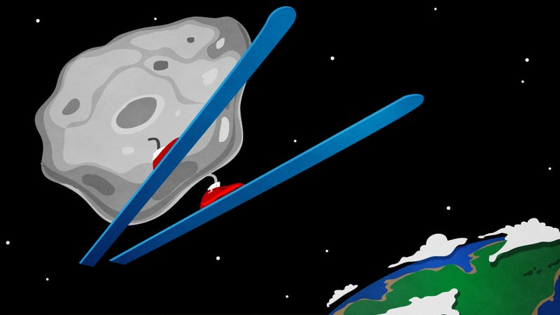 Watch Tonight's Best Olympic Event: The Terrifying Asteroid Flyby!