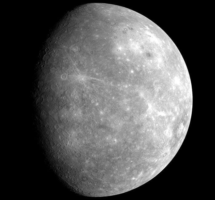 First Ever Closeup Of Mercury