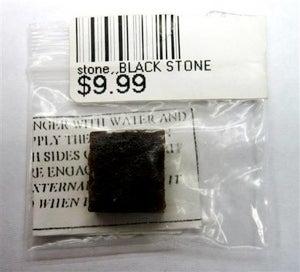 PSA: Don't Eat Black Stone