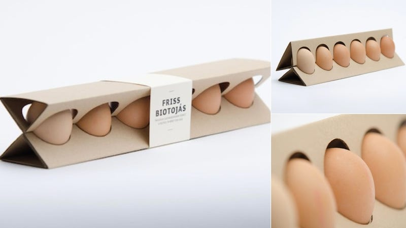 Would You Buy This Freak Egg Carton?