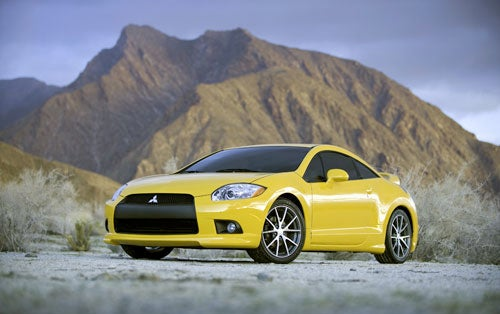 2009 Mitsubishi Eclipse GT, Spyder Unveiled Before Chicago Auto Show