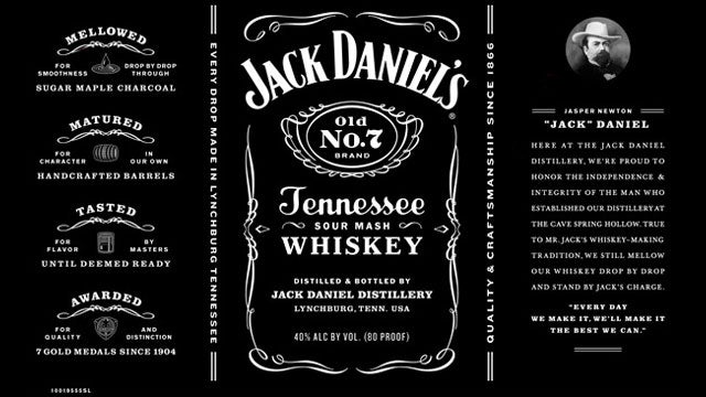 How Many Changes Can You Spot on the New Jack Daniel's Label?