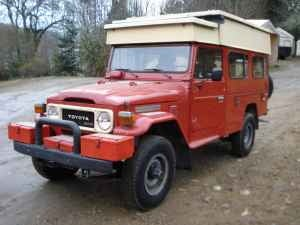 1981 Toyota Landcruiser Camper for a Zombie-Crushing $35,000 Canadian!
