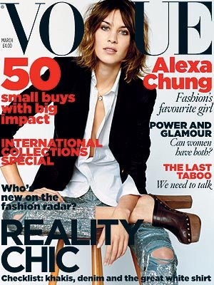 Alexa Chung Nabs Vogue Cover; Tavi Wants To Direct
