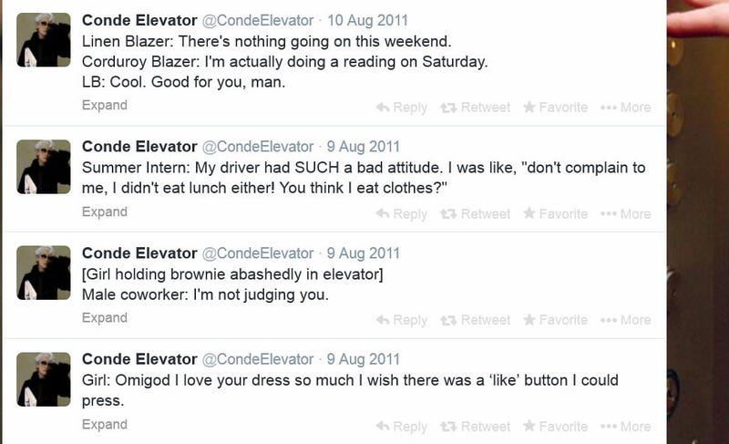 Former GQ Writer Admits She's the One Behind the @CondeElevator Tweets