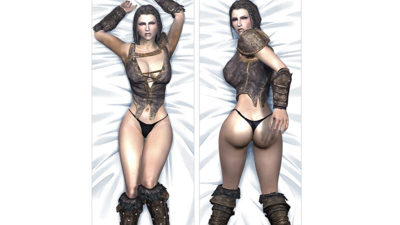 Would You Buy a Skyrim Hug Pillow?