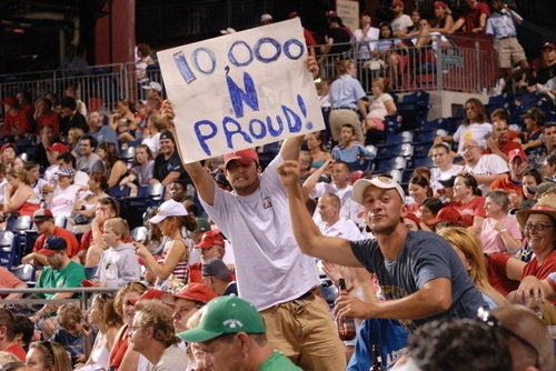 Philadelphia Phillies: 10,000 Losses