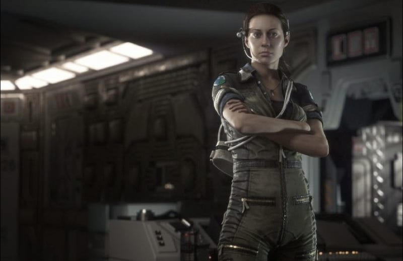 This is Ellen Ripley's daughter, all grown up and ready to kill Aliens