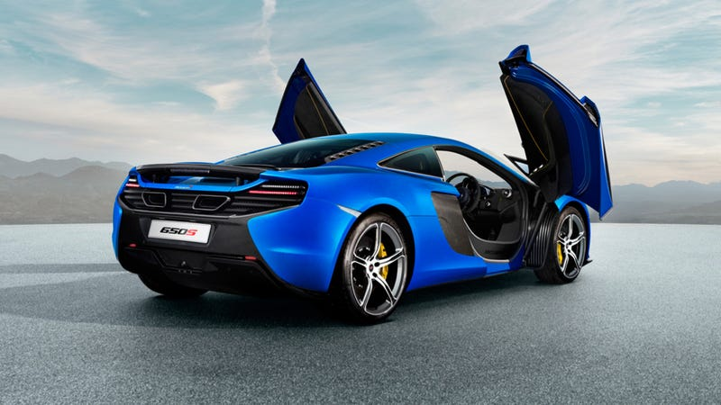McLaren 650S Will Start At $320,000 In Europe, 'Leaked' Sheet Claims