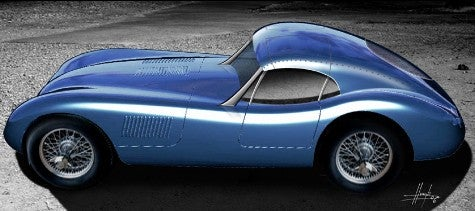 Long Live the Replicants: Proteus to Build a Jag C-Type Coupe