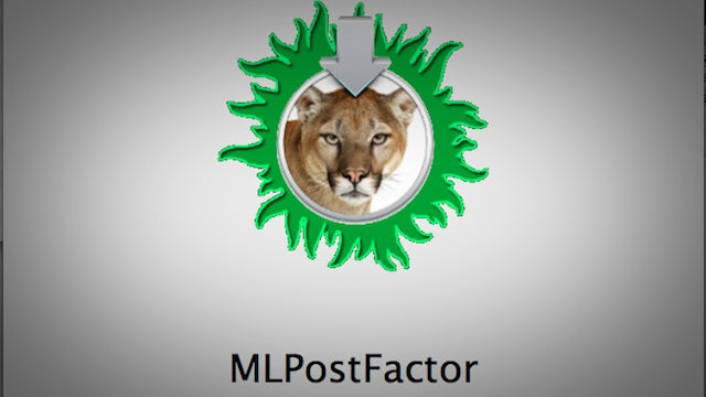 MLPostFactor Installs Mountain Lion on Older Macs