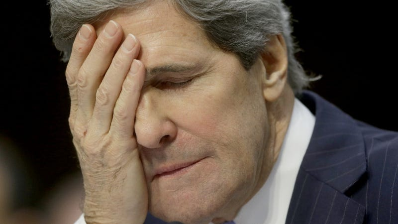 John Kerry Says He Has 'Big Heels to Fill'